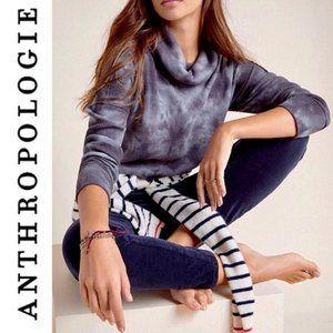 Anthropologie Maeve Ainsley Tie Dye Thermal Top